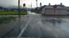 集中豪雨と黄門さま