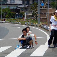 マラソンでのボランティア活動